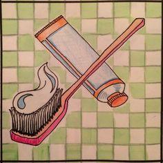 Toothbrush / tandenborstel   T van tandenborstel