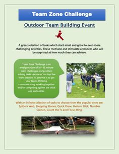 Lets take a part in Team Zone Challenge and enjoy various amazing team building activities with your team and enjoy it. Outdoor Team Building Activities, Team Building Events, Team Challenges, Getting To Know, Problem Solving, Motivation, Amazing, Determination, Inspiration