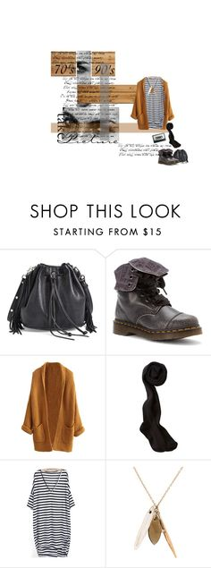 """""""D I R T Y deeds D O N E dirt C H E A P"""" by nadinekenific ❤ liked on Polyvore featuring Rebecca Minkoff, Dr. Martens and Jamie Joseph"""