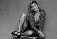 Kate Moss sans fard pour le Vogue Italie