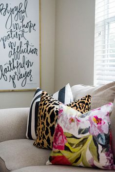 house of belonging sign + @societysocial pillows
