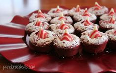 This super easy dessert recipe for Red Velvet Cupcake Cookies is perfectly festive for both Christmas and Valentine's Day. So pretty to serve, too!