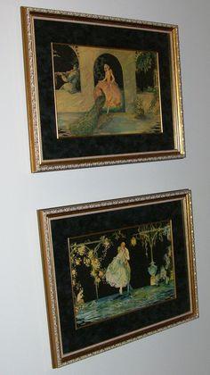 Prints by Tsanya    Top:  Peacock Garden    Bottom:  Love Triumphant