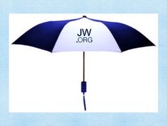 PERFECT Pioneer Appreciation Gift but would $ add up quickly for as many as we need. jw.org Umbrella by GrammyKimsAttic on Etsy