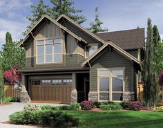 color schemehttp://www.ultimatehomeplans.com/Plans/441285.aspx #homeplan #houseplan #craftsman