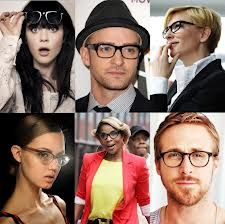 Some of our favorite celebrities wearing eyeglasses. #celebritystyle #glasses #eyeglasses