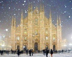 Goal: To go to Italy, attend Fashion week in Milan, and see a show in front of the Duomo.
