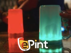 The Only Game Day Smart Beer Mug. Does your Beer Mug light up your teams colors when they score? ePint Does!
