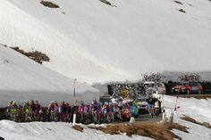 Italy's second highest pass features regularly in the Giro, but will be eternally linked to the epic blizzard of the 1988 Giro. Andy Hampste...