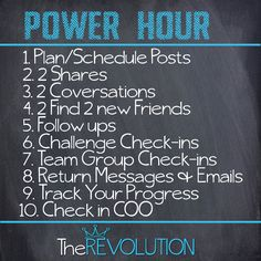 POWER HOUR ~ The Revolution