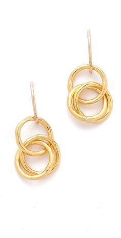 Gorjana Infinity Earrings - Made in the USA