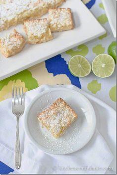 Summer Dessert - margarita bars