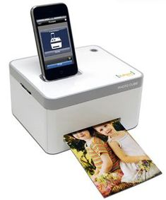 iPhone photo printer-I want this!!! when I get a iphone at least lol