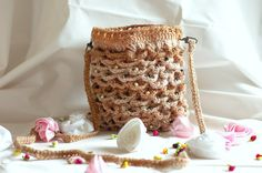 Ladies cross body bag - hand bag with long detachable strap Handmade Items, Handmade Gifts, Straw Bag, Messenger Bag, My Etsy Shop, Crossbody Bag, Hands, Trending Outfits, Unique Jewelry