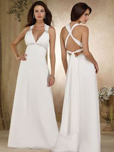 Love v-neckline and Cross Straps on the Back