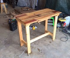This instructable will show you how you can make a table out of old pallets