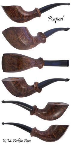Handmade Peapod Smoking Tobacco Pipe