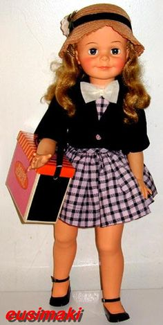 "24"" Miss Ideal vintage doll"