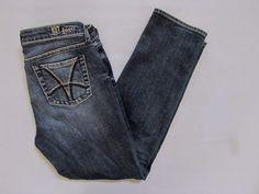 """Kut From The Kloth Jeans 10 Catherine Boyfriend dark distress straight Denim 30"""" #KUTfromtheKloth #Boyfriend"""