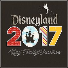 Cover Page 2017 DisneyLand vacation