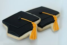 How to make graduation hat cookies #recipe #make