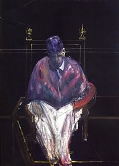 Francis Bacon Study for Portrait II, 1956 x 116 cm) Max Ernst, Francis Bacon Pope, Edvard Munch, Karl Schmidt Rottluff, James Ensor, Modern Art, Contemporary Art, Georges Pompidou, Emil Nolde