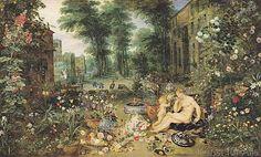 Jan+&+P.P.+Brueghel+&+Rubens+-+The+Sense+of+Smell