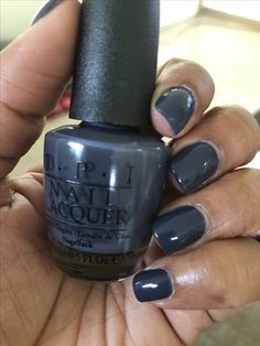 OPI Less is Norse Shellac Manicure, Opi Nail Polish, Opi Nails, Nail Polish Colors, Cute Nails, Pretty Nails, Diva Nails, Nail Time, Striped Nails