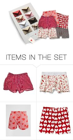 """""Well, Here's Your Stuff…the Poster Board Envelopes Have Coupons for Back Rubs, Foot Massages…There's Even One for Cleaning Up the Barn, But That Requires Pre-Approval Before Activation…& You Needed New Boxers, So I Got Hearts""…""Awesome, Babe"""" by maggie-johnston ❤ liked on Polyvore featuring art"
