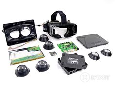 Oculus Rift teardown on April 8, 2013.