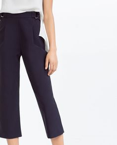 Image 3 of HIGH WAIST TROUSERS from Zara