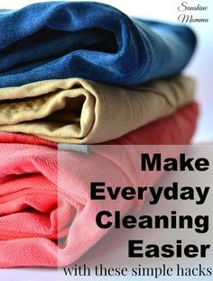 Making everyday cleaning easier with these simple hacks!