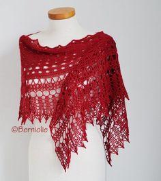 MILA Crochet shawl pattern pdf