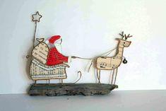 Le traîneau du père Noël by Epistyle
