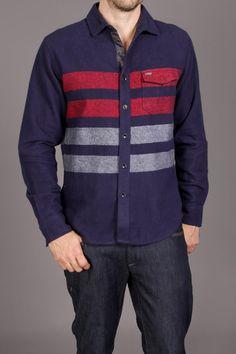 Billabong Clayton Button Hood L/S Woven Shirt