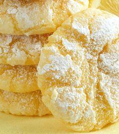 Лимонное печенье из творожного теста - Vypechka.Perchinka-Hozyayushka.ru
