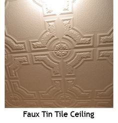 Home Ceiling, Ceiling Decor, Ceiling Design, Wall Decor, Ceiling Ideas, Tin Tiles, Tin Ceiling Tiles, Formal Living Rooms, Living Room Decor