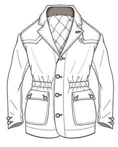 Line drawing http://www.sewingavenue.com