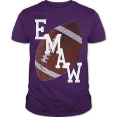 Purple Pride Football - E M A W