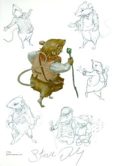 The Wind in the Willows. Mr. Water Rat by Steve Dooley www.bibliodome.com
