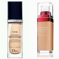 """""""So, I recently returned the Dior Star foundation because it just wasn't worth the price. I picked up the Revlon Age Defying and HOLY CRAP. This foundation is THE EXACT SAME THING, right down to the finish, application, consistency, and coverage! Save your $$ people!"""" #drugstore #dupes #foundation"""
