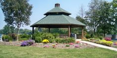 Whispering Winds Gazebo at Glazebrook Park Weddings   Get Prices for Southern Illinois Wedding Venues in Godfrey, IL