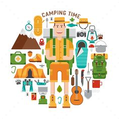 Camping Lifestyle Set