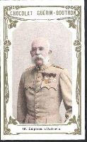 ROYALTY AUSTRIA: husband empress Sissi - Sisi, EMPEROR FRANCIS JOSEPH in uniform - Habsburg
