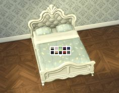 Mod The Sims - Galleon Bed Frame (Texture-Referencing)