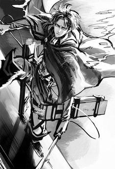 Mikasa, Attack On Titan Fanart, Attack On Titan Levi, Levi Ackerman, Eren Y Levi, Rivamika, Eruri, Ghost In The Shell, Animes Wallpapers