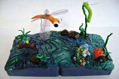 Room 9: Art!: Model Magic Miniatures Show Movement!