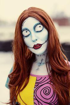 Achado não é roubado | 10 makes de Halloween para se inspirar #sally #maquiagem #halloween