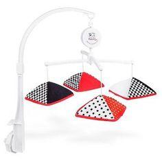 Musical Infant Stimulation - Black, White & Red Mobile $26.95