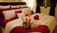 Romantic Valentines Day Bedroom Decorations  Interior design